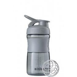 Шейкер BlenderBottle SportMixer 591 мл Pebble Grey серый графит