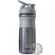 Шейкер BlenderBottle SportMixer 828 мл Pebble Grey серый графит