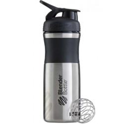 Шейкер BlenderBottle SportMixer Stainless 828 мл Black/Black