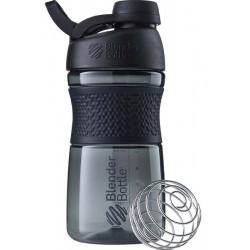 Шейкер BlenderBottle SportMixer Tritan Twist Cap 591 мл Full Color Black черный