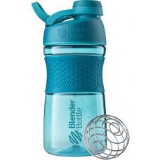 Шейкер BlenderBottle SportMixer Tritan Twist Cap 591 мл Full Color Teal морской голубой