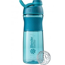 Шейкер BlenderBottle SportMixer Tritan Twist Cap 828 мл Full Color Teal морской голубой