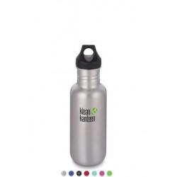 Бутылка Klean Kanteen Classic Loop 532 мл Brushed Stainless