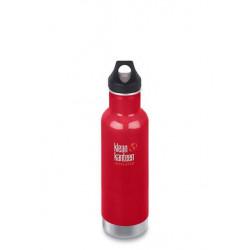 Термобутылка Klean Kanteen Classic Loop 592 мл Mineral Red