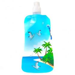 Бутылка для воды с карабином Таити