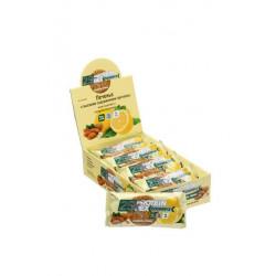 """Печенье с высоким содержанием протеина ProteinRex """"миндаль-лимон"""", 12 шт по 50 гр"""