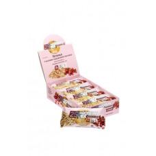 """Печенье с высоким содержанием протеина ProteinRex """"овсяное с клюквой"""", 12 шт по 50 гр"""