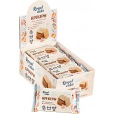 Крекер Royal Cake гималайская соль и семена чиа с высоким содержанием протеина 85 г х 6 шт