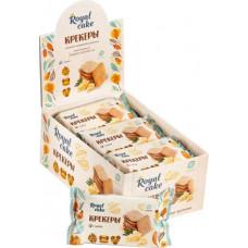 Крекер Royal Cake с высоким содержанием протеина сырный, 6 шт по 84г