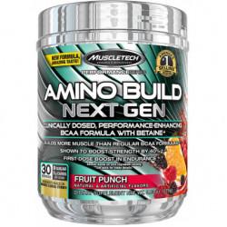 MuscleTech Amino Build Next Gen 270 г белая малина