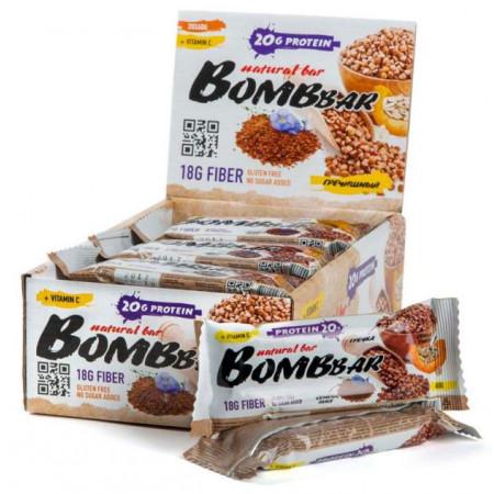 Протеиновый батончик Bombbar Bombbar Box - 20 шт., Гречишный