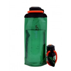 Складная эко бутылка VITDAM, зеленая, объем 700 мл - артикул B070GRS