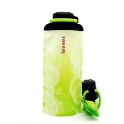 Складная эко бутылка VITDAM, желто-зеленая, объем 700 мл - артикул B070YGW