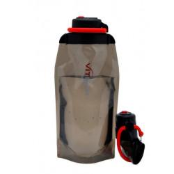 Складная эко бутылка VITDAM, черная, объем 860 мл - артикул B086BKS