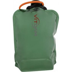 Складная эко бутылка VITDAM, зеленая, объем 4 л - артикул B400GRS