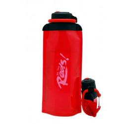 Складная эко бутылка VITDAM, красная, объем 700 мл - артикул B070RES