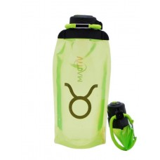 Складная эко-бутылка Vitdam, желто-зеленая, 860 мл, Taurus/Телец