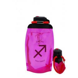 Складная эко-бутылка Vitdam, розовая, 500 мл, Sagittarius/Стрелец