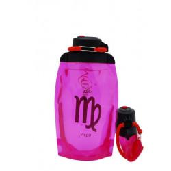 Складная эко-бутылка Vitdam, розовая, 500 мл, Virgo/Дева