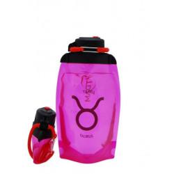Складная эко-бутылка Vitdam, розовая, 500 мл, Taurus/Телец