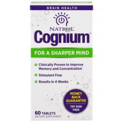 Natrol Cognium 60 tabs - 60 таб.