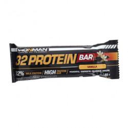 """Батончик """"IRONMAN"""" """"32 Protein"""" 50г - ваниль/тёмная глазурь- 24шт"""