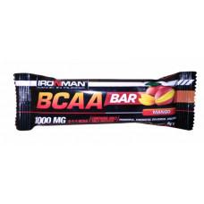"""Батончик """"IRONMAN"""" """"BCAA Bar"""", 50г - Манго/тёмная глазурь- 24шт"""