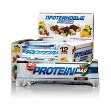 """Батончик """"IRONMAN"""" """"Protein Bar"""" с коллагеном БЕЗ САХАРА, 50г - Кокос/тёмная глазурь- 12шт"""
