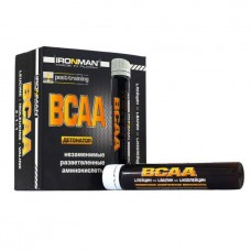 Ironman BCAA 10 ампул по 25 мл малина