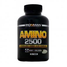 Ironman Amino 2500 72 таблетки без вкуса