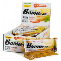 Батончик протеиновый Bombbar - коробка 20 шт., Лимонный торт