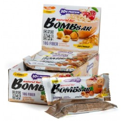 Батончик протеиновый Bombbar - коробка 20 шт., Овсянка