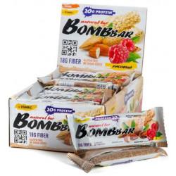 Батончик протеиновый Bombbar - коробка 20 шт., Рис