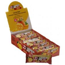"""Батончик с высоким содержанием протеина ProteinRex """"манго"""", 18 шт по 40г"""