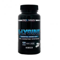 Ironman L-Lysine 60 капсул без вкуса