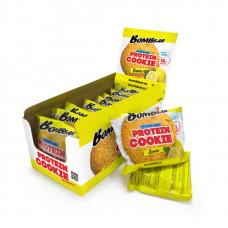 Печенье неглазированное Bombbar Лимон 60 г, коробка 10 шт.