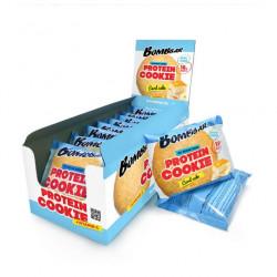 Печенье неглазированное Bombbar 60гр - коробка 10 шт., Творожный кекс