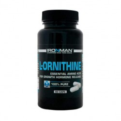 Ironman L-Ornithine 60 капсул без вкуса