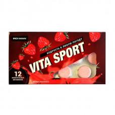 Витаминный комплекс Ironman Vita Sport 12 таблеток, земляника