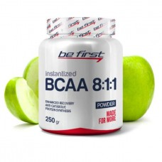 Be First BCAA Flavored 250 г зеленое яблоко