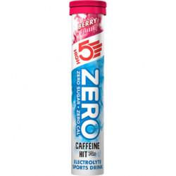 Электролитный напиток High5 Zero с кофеином, лесные ягоды