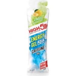 Изотонический энергетический гель High5 Aqua с кофеином, цитрус