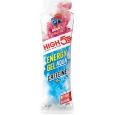 Изотонический энергетический гель High5 Aqua с кофеином, лесные ягоды