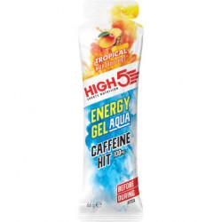 Изотонический энергетический гель High5 Aqua с кофеином, тропические фрукты