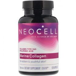 Морской коллаген - Neocell Marine Collagen + HA - 120 капсул