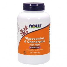 NOW Glucosamine & Chondroitin with MSM - 180 капсул