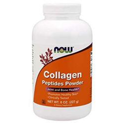 NOW Collagen Peptides Powder - 227 грамм - пептиды коллагена в порошке