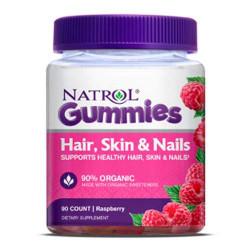 Витаминный комплекс Natrol Hair, Skin & Nails Gummies конфеты