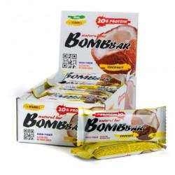 Батончик протеиновый Bombbar - коробка 20 шт., Кокос