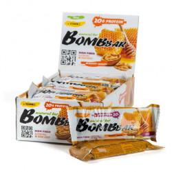 Батончик протеиновый Bombbar - коробка 20 шт., Грецкие орехи с медом
